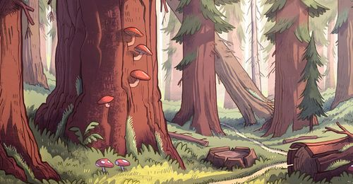Latest High Definition Gravity Falls Wallpapers