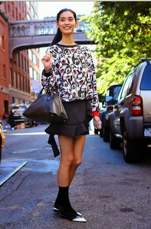 Animal Print Dress Young Women Street Fashion Designs