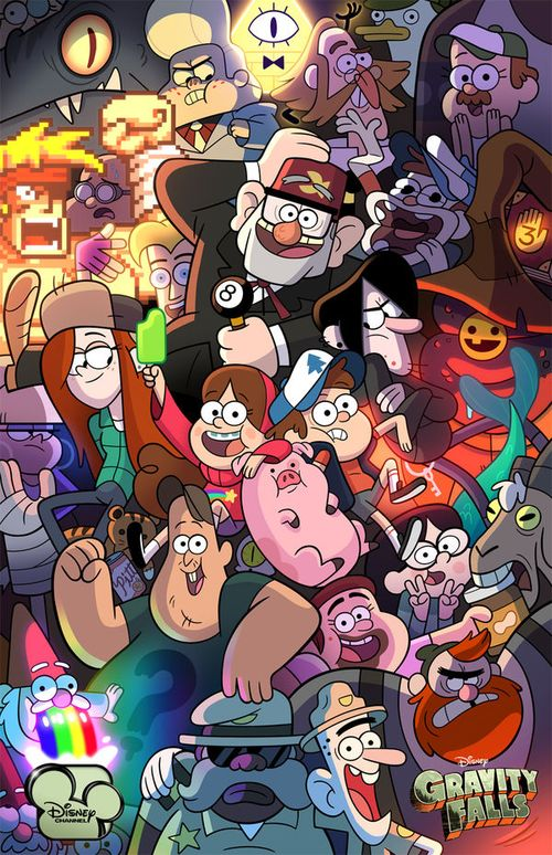 Gravity Falls Wallpapers for Cell Phone