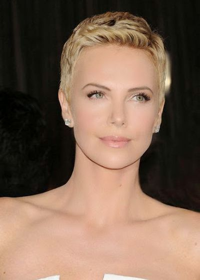Charlize Theron Short Hairstyle