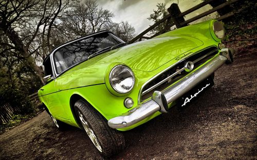 Green Car Wallpapers for Facebook Cover
