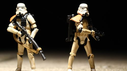 Awesome Stormtrooper Wallpaper