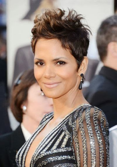 Halle Berry 1989 Short Haircut Look