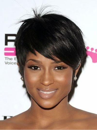 Short Side Band Hairstyle Look