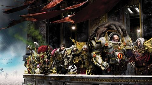 Warhammer 40k Wallpaper Chaos Marines