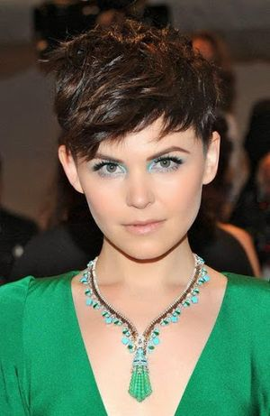 Ginnifer Goodwin Awesome Haircut with Beautiful Neckless Ideas