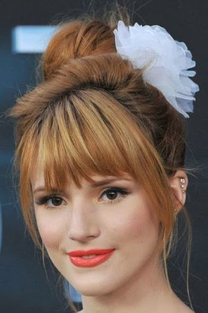 Bella Thorne Bun Hairstyle