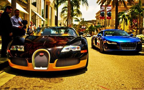Top and best 3d bugatti car wallpaper