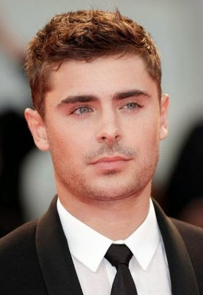 Zac Efron Formal Short Hairstyle