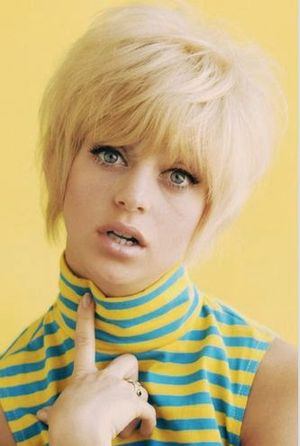 Goldie Hawn 60s Short Hairstyle