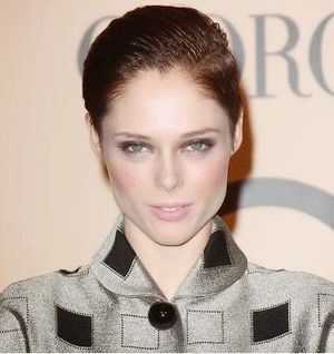 Coco Rocha Back her Short Haircut Look