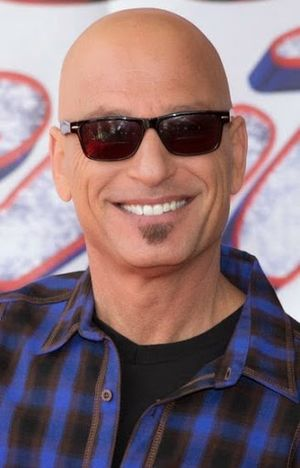 Howie Mandel Shaved Head Hair and Soul Patch Beard Look