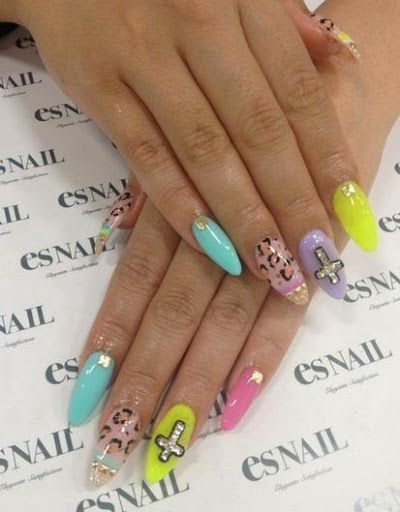 Beautiful 3 D Nail Art Designs and Ideas