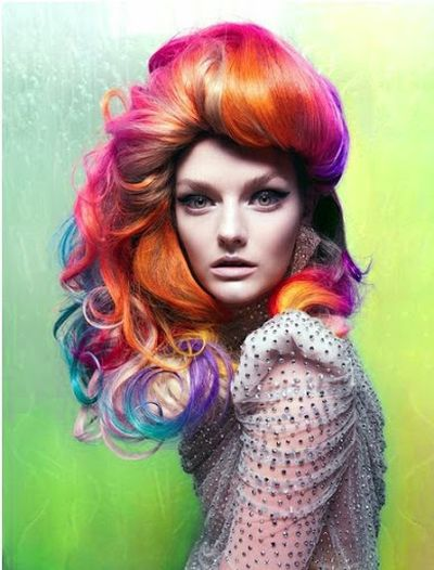 Lydia Hearst Long Wavy and Curly Hair With Color Hairstyle Ideas