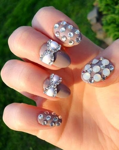 Easy and Beautiful 3D Stone Nail Art
