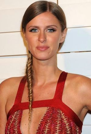 Nicky Hilton Simple Fishtail Braided Hairstyle