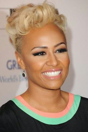 Emeli Sande Platinum crop Short Hairstyle