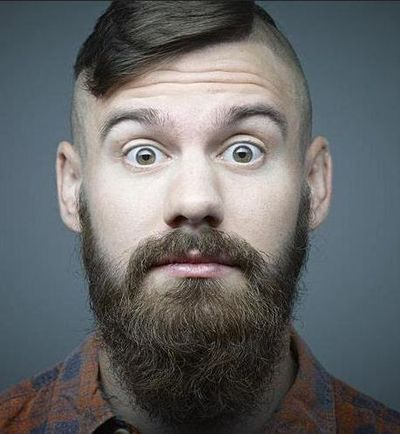 Undercut Hair Styles with Long Thick Beard Styles