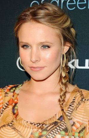 Kristen Bell Laid-Back Locks Hairstyle
