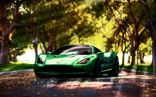 Green BMW Car Wallpapers