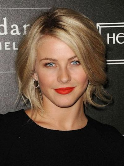 Julianne Hough (Professional Dancer) Short Bob Hairstyle Ideas