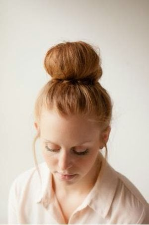 Diy Brown Color Fantail Bun Wedding Updos Hair Stlyes