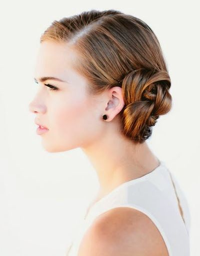 Fabulous French Braided Bun Hairstyles