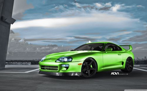 Green Sport Car Wallpapers and Photos