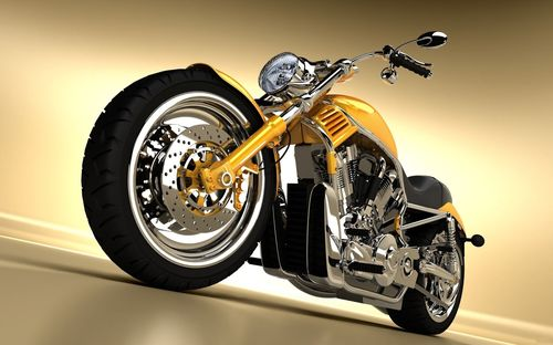 Yellow color bike HD wallpapers