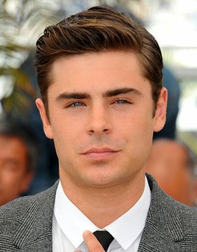 Zac Efron Cool and Lovely Formal Short Hairstyle