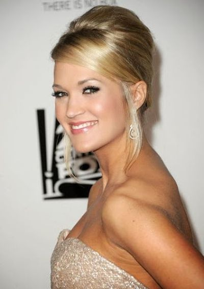 Carrie underwood updos hairstyles gallery hair extension hair 15 pictures of carrie underwood hairstyles fashionwtf carrie underwood french twist updo hairstyle pmusecretfo gallery pmusecretfo Image collections