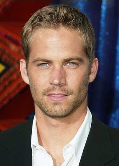 Paul Walker Very Most Popular Actor Short Wavy Haircut