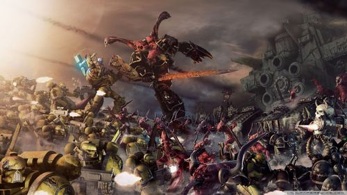 Warhammer 40k Wallpaper 1366x768