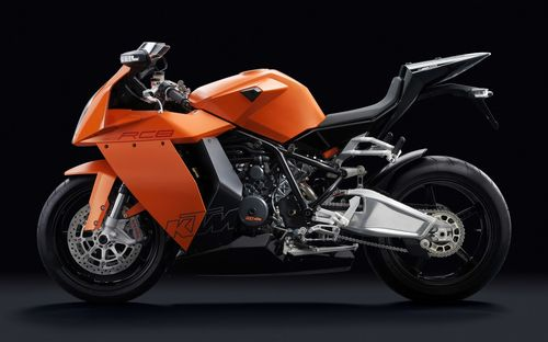KTM orange color sports bike wallpapers