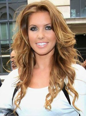 Audrina Patridge TV Personality Long Wavy Hairstyle