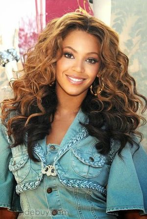 Beyonce Knowles Straight Hairstyle