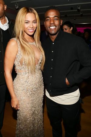 Beyonce Knowles with husband Jay-Z
