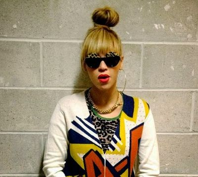 High Knot Hairstyle of Beyonce Knowles