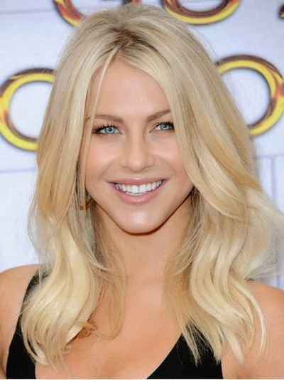Julianne Hough Dancer Long Wavy Hairstyle