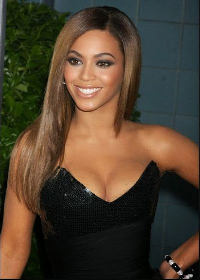 Long Straight Haircut of Beyonce Knowles