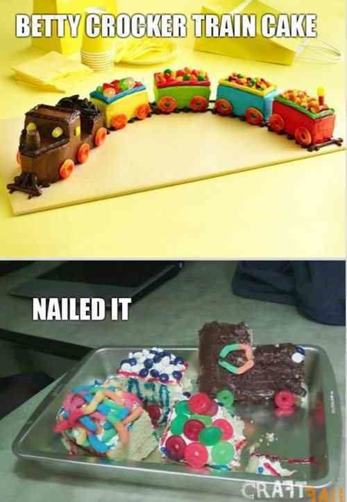 Nailed It Meme Baby Photo.