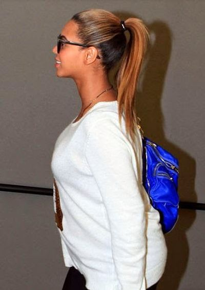 Ponytail Hairstyle of Beyonce Knowles