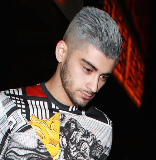 Side Look of Zayn Malik Fade Undercut Hairstyles.