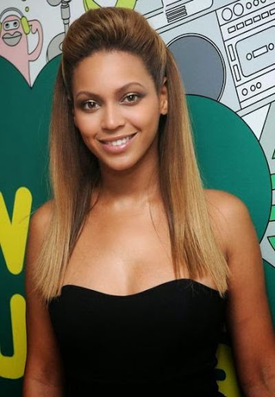 This is the Latest Beyonce Knowles Straight Hairstyle